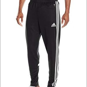 Men's black Adidas sweatpants/soccer pants